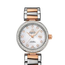 Omega De Ville Ladymatic Co-Axial 34 MM Red Gold