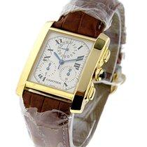 Cartier Tank Francaise Chronograph on Strap