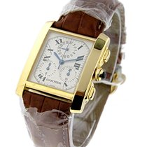Cartier Tank Francaise Chronograph on Strap