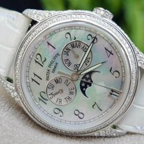 Patek Philippe [NEW] Complicated White Gold Moon Phase Diamond...