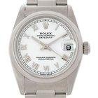 Rolex Midsize Datejust White Dial Steel Watch 78240