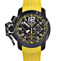 Graham Chronofighter Oversize Super Light in Carbon