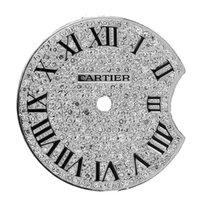 Cartier Ballon Bleu 28mm Diamond Pavé Custom Dial