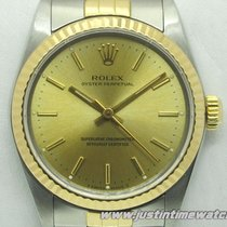Rolex Oyster Perpetual 67513 Lady 31mm quadrante oro
