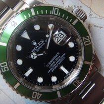Rolex 2010 NOS 50th Anniversary Rolex Green Submariner 16610 LV