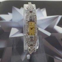 Bulova Wristwatch Platinum and Diamonds