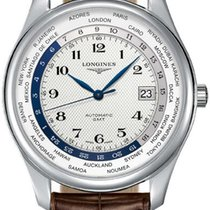 Longines Master Automatic GMT L2.802.4.70.3 Stainless Steel...