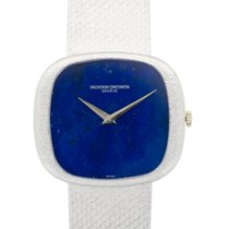 Vacheron Constantin White Gold Lapis Lazuli Bracelet Watch