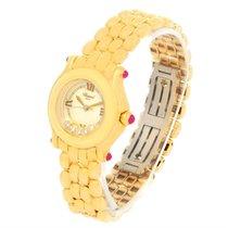 Chopard Happy Sport Yellow Gold Floating Diamonds Watch...