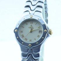 Ebel Sportwave Damen Uhr 28mm Stahl/gold Schöner Zustand Rar