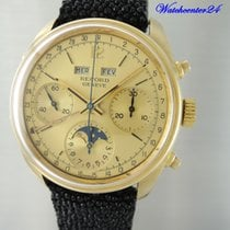Vintage Record Vollkalender Mondphase Chronograph 18k/750...