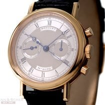 Breguet Classique Chronograph 18k Rose Gold Box Papers Bj-1991