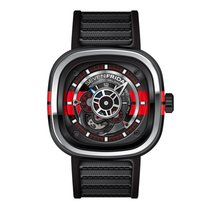 Sevenfriday P3-Bb Stainless Steel / PVD / Red