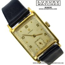 Omega Square vintage yellow Gold 18KT 1944's