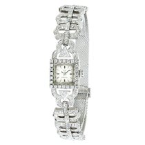 Omega Vintage Dress 650 Women's Quartz Watch in 18K White...