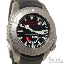 Girard Perregaux Sea Hawk II 47mm Titanium Black Rubber Strap...