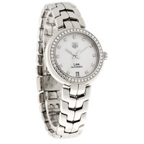 TAG Heuer Link Ladies MOP Diamond Swiss Automatic Watch...