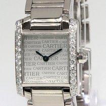 Cartier Tank Francaise Anniversary 18k White Gold Diamond...