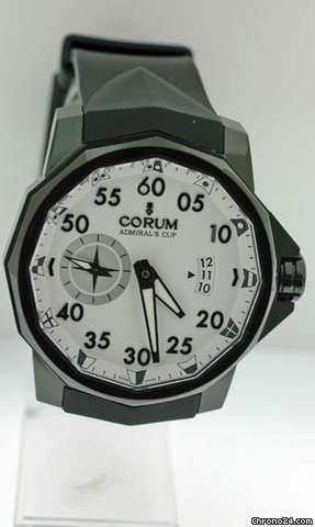 Corum Admirals Cup Competition 48 Titanium-Black PVD