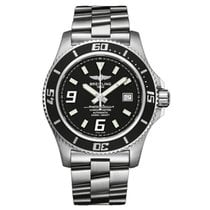 Breitling SuperOcean 44, Professional III staal, Abyss White