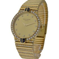 Patek Philippe Ladies 3822 Calatrava with Diamond and Sapphire...