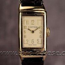 Cartier European Watch Co. Original 1935 Lady`s Reverso 18kt....