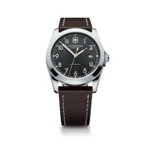Victorinox Swiss Army Infantry mechanical dark grey dial,...