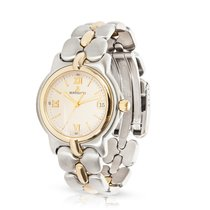 Bertolucci Pulchra Two-Tone 18K Yellow Gold/Steel Quartz Watch...