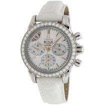 Omega De Ville Ladies Midsize Diamond Chronograph Ladies Watch...