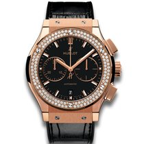 Hublot Classic Fusion Chronograph King Gold Diamond 45 mm