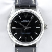 Rolex Oyster Perpetual Stahl Chronometer Automatic Index Lünette