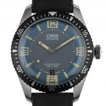 Oris Divers Sixty-Five Stahl Automatik Armband Kautschuk 40mm...