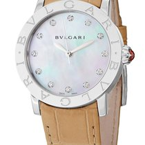 Bulgari Lady  Automatic Mother Of Pearl Dial  33mm RO
