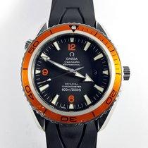 Omega 45mm orange Seamaster Planet Ocean 600m Full Set