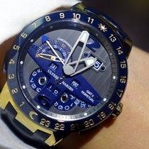 "Ulysse Nardin El Toro ""Blue"" Perpetual Calendar GMT ±..."