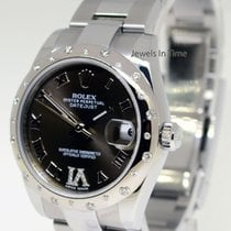 Rolex 31mm Midsize Datejust 18k White Gold & Steel &...