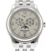 Patek Philippe Annual Calendar 18kt White Gold Men's Wrist...