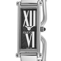 Gucci 1500 L Stainless Steel Womens Fashion Bangle Watch YA015545