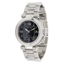 Cartier Pasha W31076M7 Unisex Watch in Stainless Steel