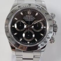 Rolex Daytona Black Index Dial & Stainless Steel Complete...