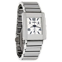 Rado Integral Mens Platinum Ceramic Swiss Chronograph Watch...