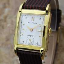 Waltham Swiss Made 1940s Men's Gold Filled Manual Vintage...