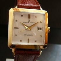 Universal Genève Vintage Monodate 18K yellow gold, HW Cal 267G