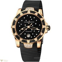 Ulysse Nardin Lady Diver Starry Night Black Rose Gold 18K...