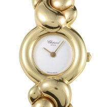 Chopard Casmir 18K Yellow Gold Ladies Quartz Bangle Watch...