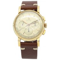 Omega Men's Vintage Omega 18k Yellow Gold Chronograph Cal....