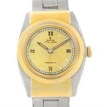 Rolex Vintage Hooded Bubbleback Steel Gold Watch 3065