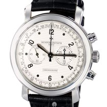 Vacheron Constantin Malte Manual Chronograph - White Gold on...
