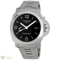 Panerai Luminor 1950 3 GMT Automatic Stainless Steel Men`s Watch