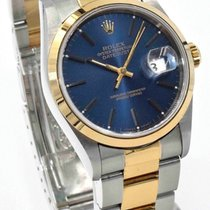 "Rolex DateJust 16203 Oyster Bracelet Two-Tone ""S""..."